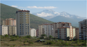 Talas, suburb of Kayseri Turkey