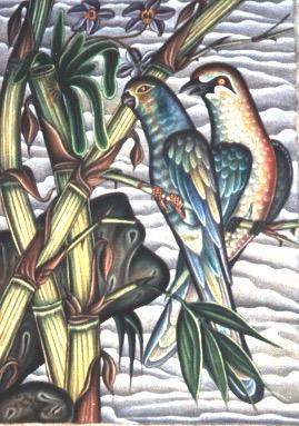 BALI-UBUD 2 BIRDS