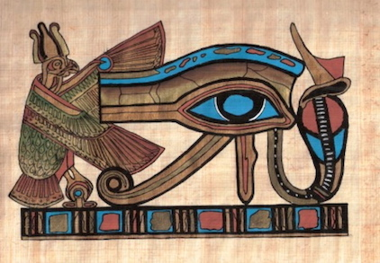 EGYPT-EYE OF HORUS PAPYRUS