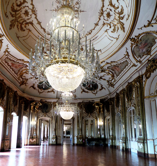 PORTUGAL-hall of mirrors